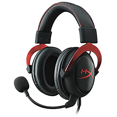 HyperX Cloud II Gaming Headset PC/PS4/Mac/Mobile - Red