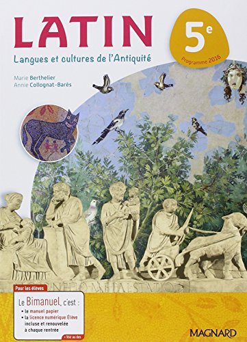 Latin 5e : Langues et cultures de l'Antiquit