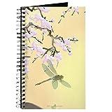 CafePress–Cherry Blossoms und Libellen–Spiralbindung Journal Notizbuch, persönliches Tagebuch, liniert