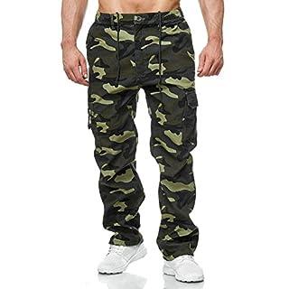 Herren Cargo Hose Arbeitshose Gefüttert Workwear H2000, Größe Hosen:XXL, Farben:Olive
