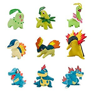 PoKéMoN Pack de múltiples Figuras Legacy Evolution T19050L1, Modelos Surtidos 4