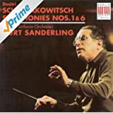 Dmitri Schostakowitsch: Symphonies Nos. 1 and 6 (Berlin Symphony, K. Sanderling)