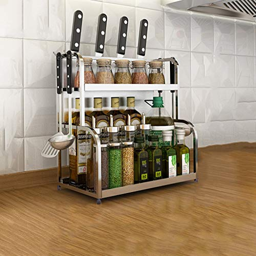 Scaffale di stoccaggio hjbh scaffale di stoccaggio in metallo di alta qualità sdbaihuo scaffale di cucina semplice in acciaio inox scaffale di stoccaggio a parete condimento garanzia della qualità del