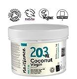 Naissance Huile de Noix de Coco Vierge BIO (n° 203) - 250g - 100% pure, naturelle, pressée à froid, arôme gourmand - végan et sans OGM