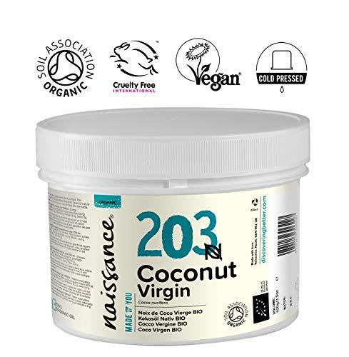 Naissance Huile de Noix de Coco Vierge BIO (n° 203) - 250g - 100% pure, naturelle, pressée à...