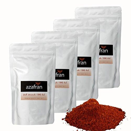BBQ-Rub Magic Dust Art | Marinade zum Grillen für Fleisch, Gemüse oder Grillkäse 1kg von Azafran®