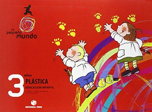 Mi pequeño mundo. Plástica 3 años - 9788430707157 por Lluis Josep Segarra Neira