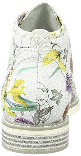 Softline 25263, Stivali Chukka Donna Multicolore (Flower Comb. 908)