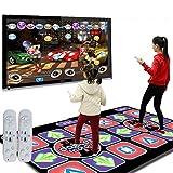 WEWE Kabellos Tanzmatte,Kinder Dance Revolution Folding Tanzmatten Fitness Tanzende Decke Hd Tv Computer Dual-verwenden-a 164x93cm(65x37inch)