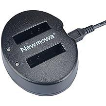 Newmowa Double USB Chargeur pour Nikon EN-EL12 Nikon Coolpix AW100 AW100s AW110 AW110s AW120 P330 P340 S310 S70 S610 S620 S630 S640 S800c S1000pj S1100pj S1200pj S6000 S6100 S6150 S6200 S6300 S8000