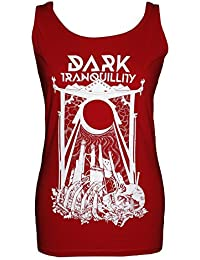 Dark Tranquillity, Girlie Frauen Tank Top, Construct Red