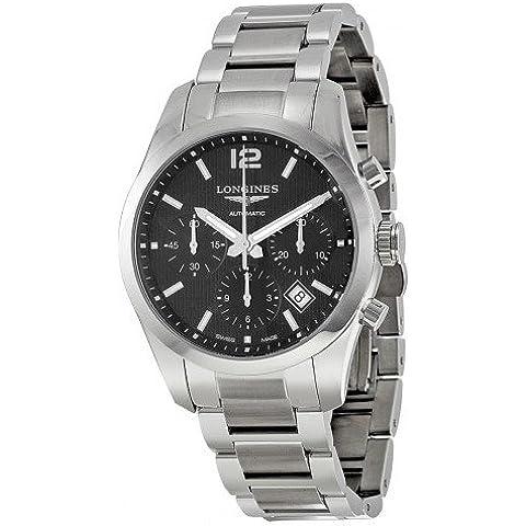Longines Conquest Classic Men's 41mm Chronograph Date Watch L27864566