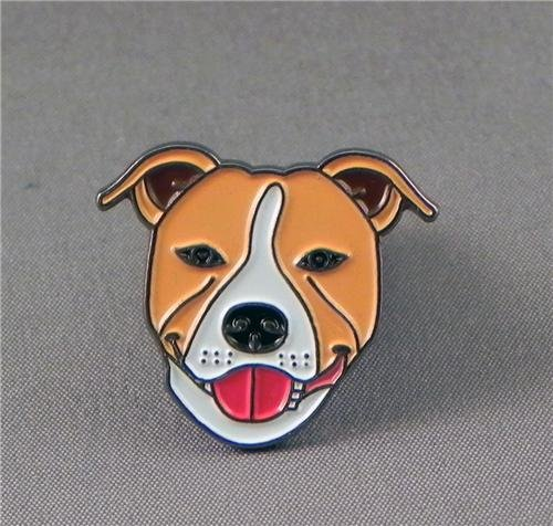 mtal-mail-badge-pingle-broche-demi-point-pour-chien-rouge-marron-brun-clair-et-blanc-staffordshire-t