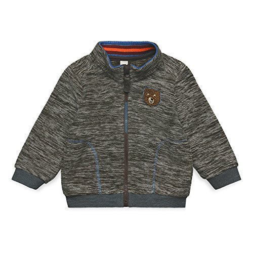 ESPRIT Baby-Jungen Strickjacke RK17042, Braun (Dark Brown 690), 86