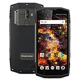 Blackview BV9000 Pro - Robuste IP68 Étanche Antichoc, 5,7 pouces 18: 9 HD écran, Android 7.1 Helio P25 Octa-core 2.6GHz, 4G Smartphone Téléphone Portable, 6Go RAM 128Go ROM, 13.0MP+5.0MP+8.0MP Caméra,Débloqué, Capteur d'empreintes Digitales, 4180mAh Batterie, Dual SIM/OTG/OTA / NFC - Gris