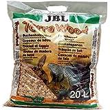 JBL TerraWood 20 l, Substrat de sol pour terrariums arides et semi-arides
