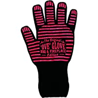 Durandal Grillhandschuhe Hitzebeständig bis 250°C | Feuerfeste Handschuhe | Idealer Ofenhandschuh, Kaminhandschuh & Grillhandschuh | Tolles Grill Zubehör