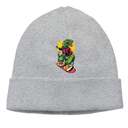 Dinosaur Beanies Skull Cap Winter Warm Hedging Cap - Winter Skull Cap