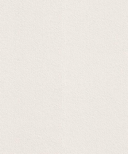 rasch-carta-da-parati-eleganza-in-vinile-soffiato-507805-lineare-in-tinta-unita-colore-avorio-panna