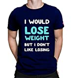 Graphic Printed T-Shirt for Men & Women | Funny Quote T-Shirt | Gym Tshirt | Half Sleeve T-Shirt | Round Neck T Shirt | 100% Cotton T-Shirt