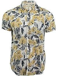 Chemise hawaïenne florale à manches courtes 'Waiki' par Soul Star pour homme