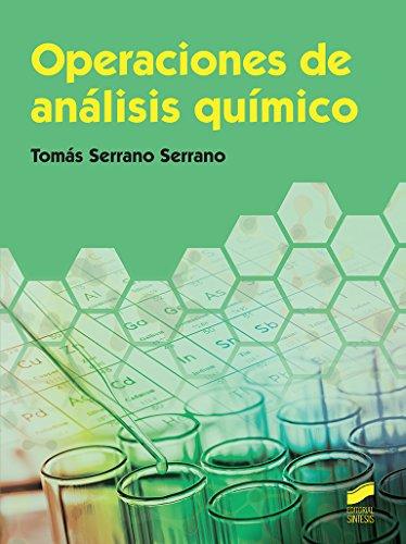 Operaciones de análisis químico (Ciclos Formativos) por Tomás Serrano Serrano