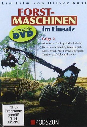 Preisvergleich Produktbild Forstmaschinen im Einsatz,  DVD