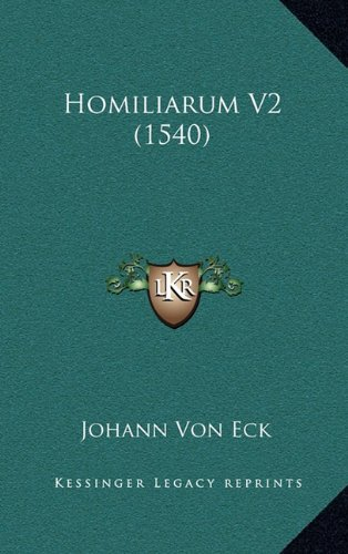 Homiliarum V2 (1540)