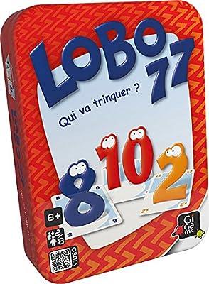 Gigamic - AMLOBO - Jeu de carte - Lobo 77