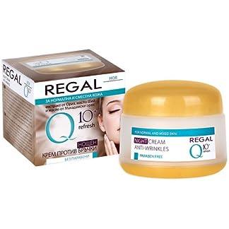 Regal Q10+ Crema Hidratante de Noche Antiarrugas Piel Normal y Mixta