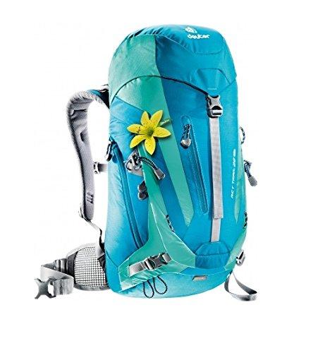 Deuter Damen Rucksack ACT Trail SL, petrol-mint, 56 x 24 x 18 cm, 22 Liter, 344001532170 (Damen Rucksack Deuter)