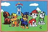 Fun House Paw Patrol 712541-Alfombra Infantil, diseño de la Patrulla Canina, 120x...