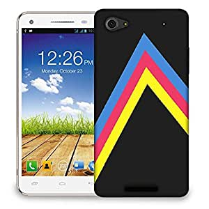 Snoogg to the right 2466 Designer Protective Back Case Cover For Micromax Canvas Hue 2 A316