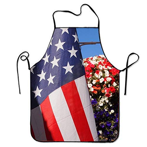 Sweetheart Womens Bras (Jieaiuoo American Flag is Colorful Sweetheart Chef Kitchen Apron Stitched Edges)