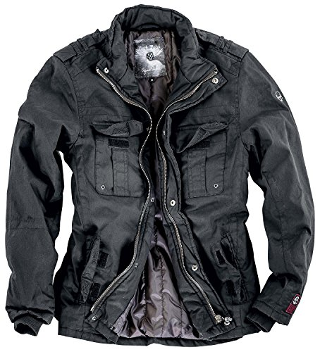 Rock Rebel by EMP Combat Jacket Giacca nero XXL