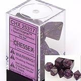 Polyhedral 7-Die Speckled Dice Set