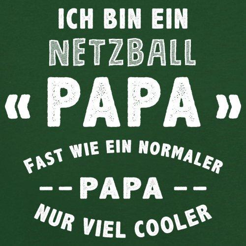 Ich bin ein Netzball Papa - Herren T-Shirt - 13 Farben Flaschengrün