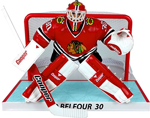 1a79eacb6 IMPORTS DRAGON Imports 1988-1997 Dragon Ed Belfour Chicago Blachawks -  Figura de NHL con