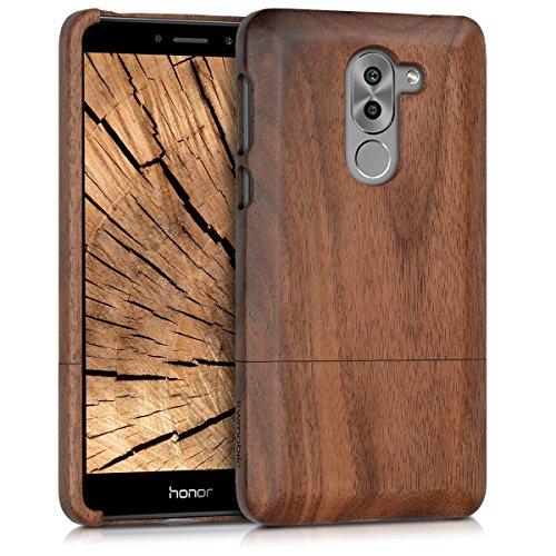 kwmobile Huawei Honor 6X / GR5 2017 / Mate 9 Lite Hülle - Handy Schutzhülle aus Holz - Cover Case Handyhülle für Huawei Honor 6X / GR5 2017 / Mate 9 Lite