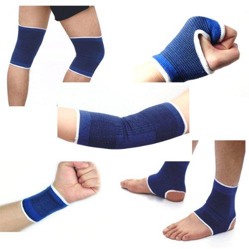 MaMaison007 5pcs o set elastico Protector Palm braccio polso Knee Pad Protettore caviglia