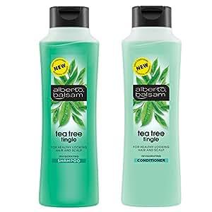 Alberto Balsam Tea Tree Tingle Invigorating Shampoo & Conditioner 350ml