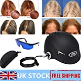 Luckyfine Anti Hair Loss Therapy Device 128 Diodes Laser Cap Hair Regrowth Therapy