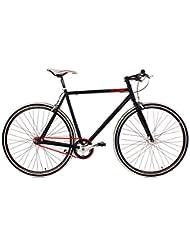 "KS Cycling Essence Vélo Fixie 28"" Noir 59 cm"