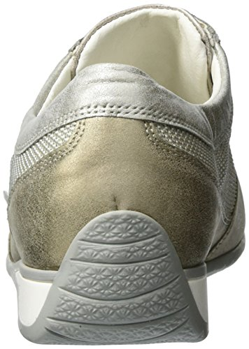 Waldläufer Damen Hadara Oxford Gold (lightgold)
