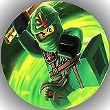 Fondant Tortenaufleger Tortenbild Geburtstag Lego Ninjago T29