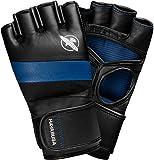 Hayabusa T3 MMA 4oz Gloves (Small, Black/Blue)