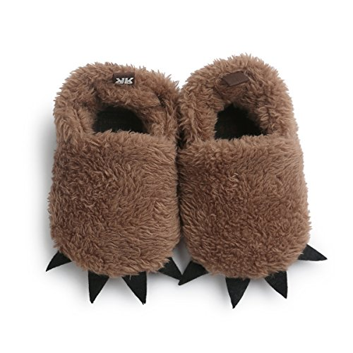 Sabe Unisex-Baby weiche warme Sohle Leder Mädchen-Kleinkind Schuhe (Schuhe Leder Sohle Kleinkind)
