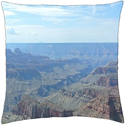 Grand Canyon View From Bright Angel Point - Throw Pillow Cover Case (18