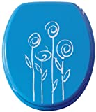 BEMIS 400978Toilet Seat with Blue Flowers