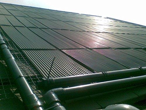 Solarabsorber 5m² EPDM Solarheizung Sonnenkollektor Solarmatte Poolkollektor
